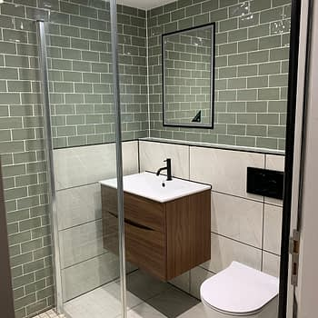 Shower Room - Professional Builders in Sunbury-on-Thames