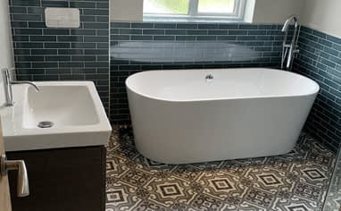 Bathroom Remodel - Builders in Sunbury-on-Thames